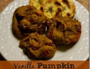 Vegan Vanilla Pumpkin Protein Muffins (GF, V, Eat Clean)