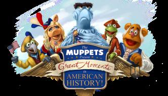 The muppets at magic kingdom