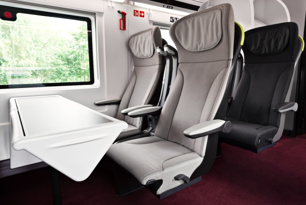 The first class provisions on other trains are split into Business Premier and Standard Premier on Eurostar