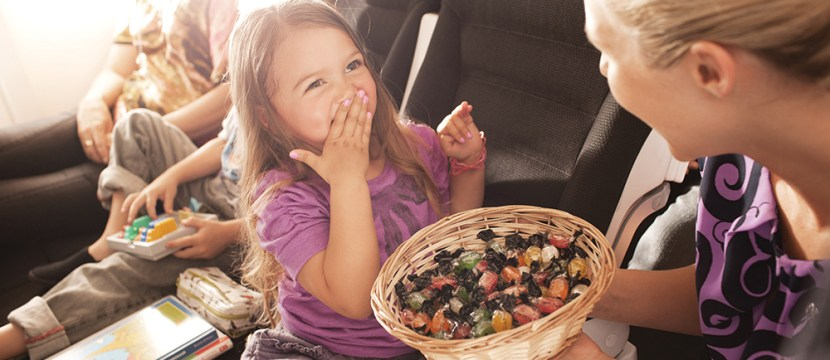 Air NZ is great with kids, and Airband will certainly reassure parents
