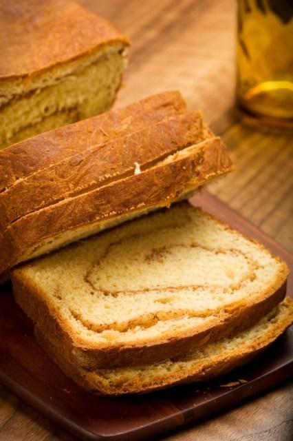 Cinnamon Swirl Sweet Potato Bread