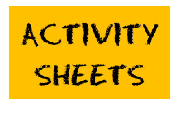 activity sheets button