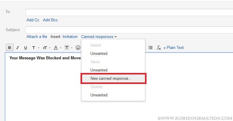 blocking email addresses on gmail