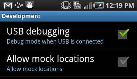 what is usb debugging mode in android