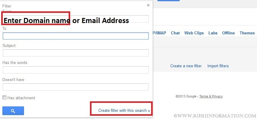 how to create address list in gmail