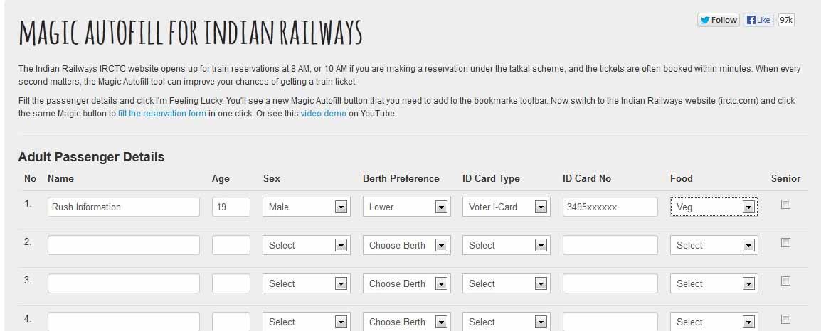 IRCTC Tatkal Tricks 2013 / 2014| Tips to Book Your Tatkal Tickets ...