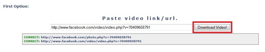 How to Download Facebook Videos on PC - Step 1