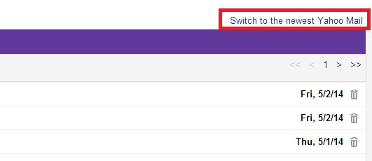 Switch Back to Basic Classic Yahoo mail - Login Yahoo mail - Switch to New Interface