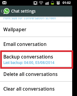 how to delete all data on whatsapp