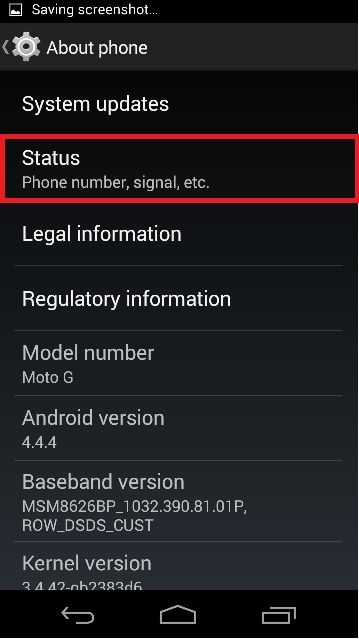 How to Find Android device mac address - 4