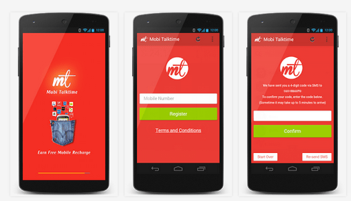 Free Mobile Recharge Tricks for Android 2015 - Mobi TalkTime