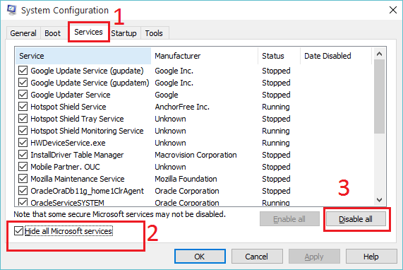 Fix Something Went Wrong Error in Office 2013 - System Configuration