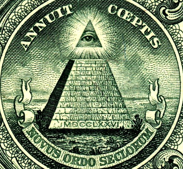 Simbol-simbol illuminati dibalik dollar amerika (sekarang 2$)