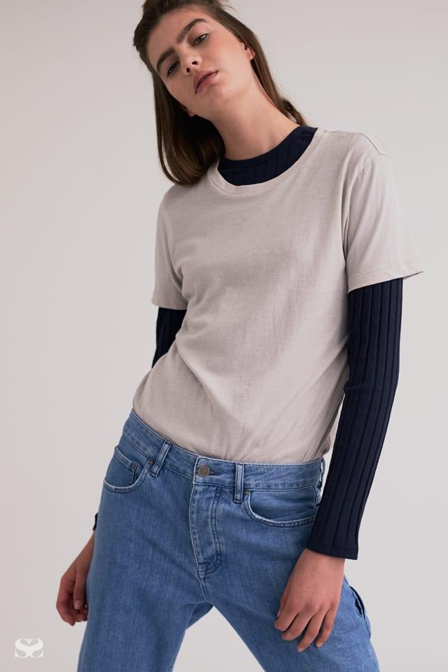 ORGANIC BY JOHN PATRICK t-shirt, AGENT NINETYNINE top, ASOS jeans.