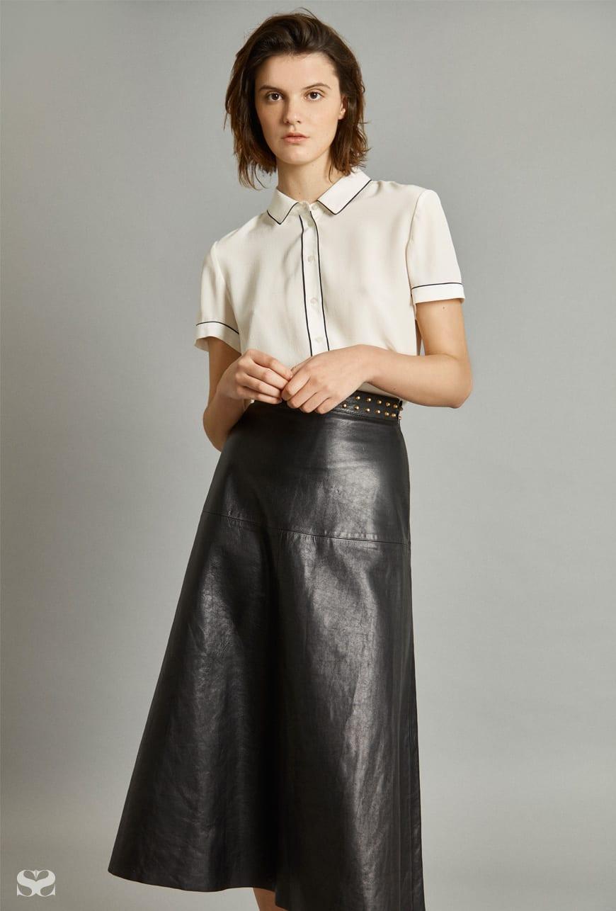 MARCS top; GUCCI skirt.