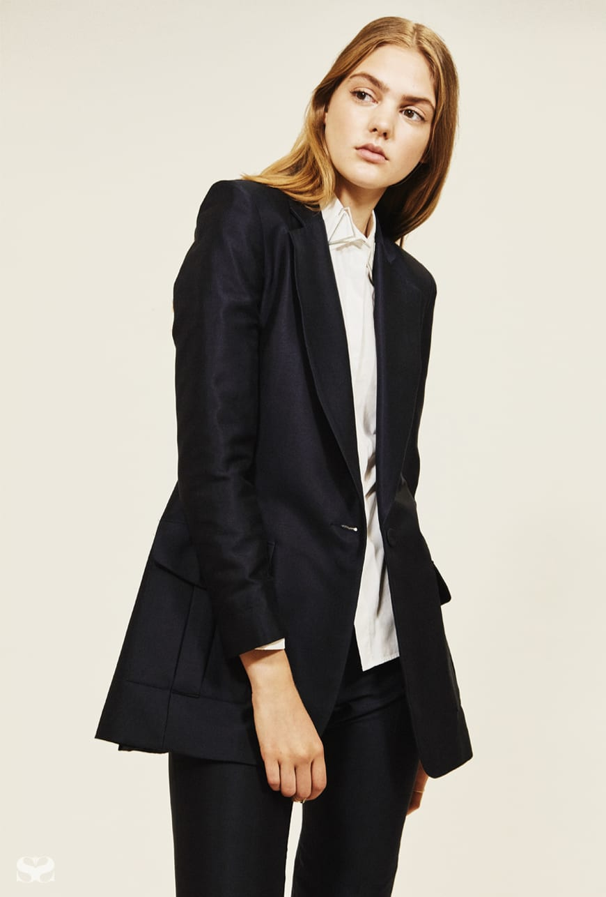 BIANCA SPENDER jacket and pants; DION LEE shirt.