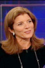 Caroline Kennedy in Daily Show Russian Dog Bit the Kennedys