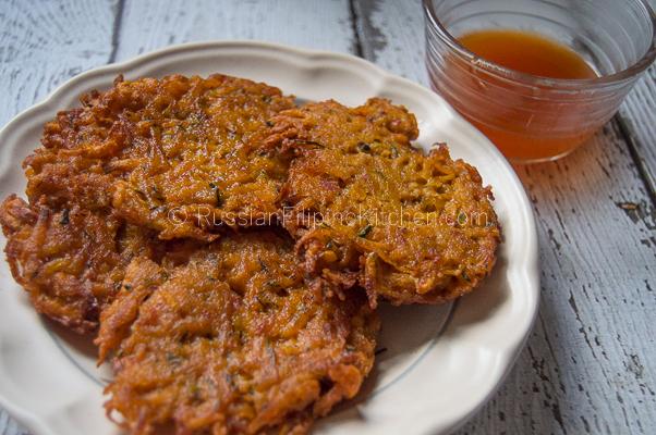 Squash Okoy Recipe (Kabocha Squash Fritters)
