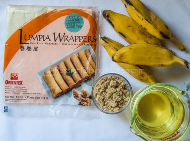 Banana Turon (Deep Fried Banana Lumpia With Caramel) 02