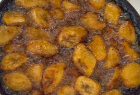 Banana Cue (Fried Saba Bananas With Brown Sugar Caramel) 06