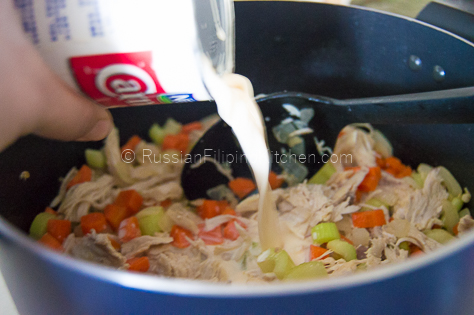 Chicken Sopas Filipino-Style (Creamy Chicken Macaroni Soup) 08