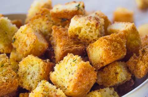 Easy Homemade Croutons 09