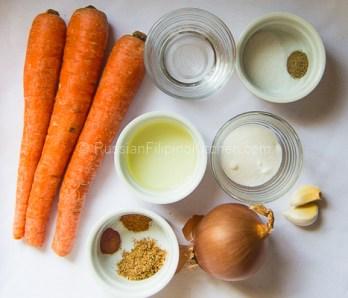 Russian Korean Carrot Salad 02