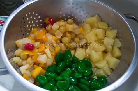 Filipino Style Fruit Salad 03