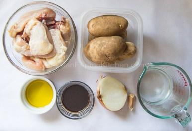 Pinatatasang Manok (Bone-in Chicken with Potatoes) 02