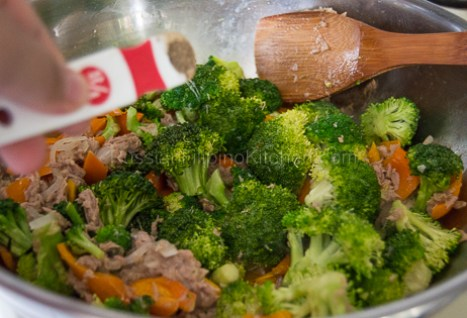 Tuna Broccoli Saute 12
