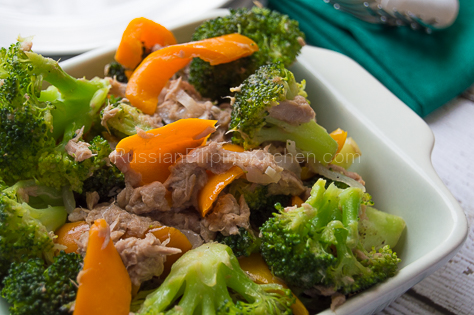Tuna Broccoli Saute 14