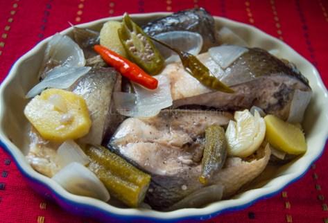 Bangus Paksiw (Milkfish in Vinegar Stew) 13