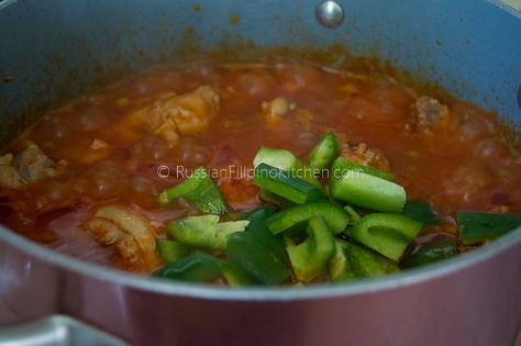 Filipino Chicken Caldereta 16