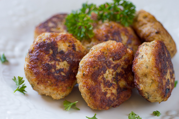 Chicken Kotleti (Russian-style Meatballs) 01