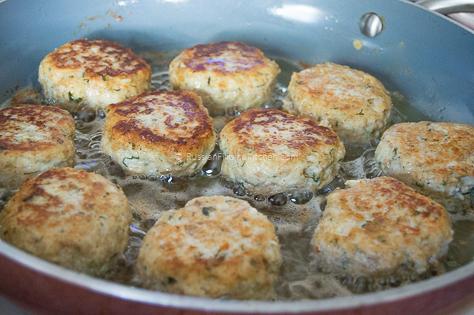 Chicken Kotleti (Russian-style Meatballs) 13