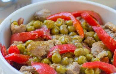 Pork Guisantes (Filipino-style Pork With Green Peas) 01
