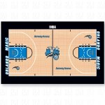 Official Orlando Magic NBA Court