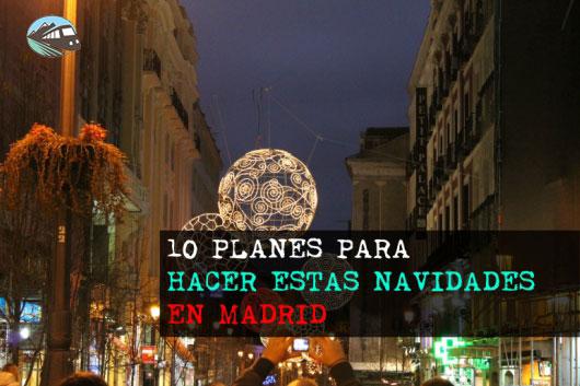 Planes de Navidad Madrid