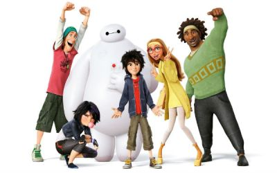For left to right: The goof, the tomboy, the golem, the hiro protagonist, the nerd girl, the stalwart square.
