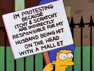 itchy and scratchy and marge censorship two forms of free speech free speech debate