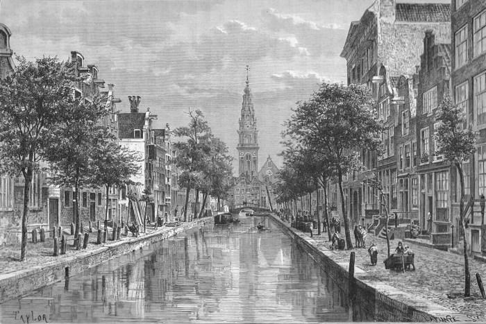 Groenburgwal circa 1880