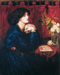 Jane Morris (The Blue Silk Dress) by Dante Gabriel Rosetti