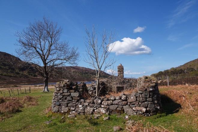 Ruin Near Loch A Ghlinne