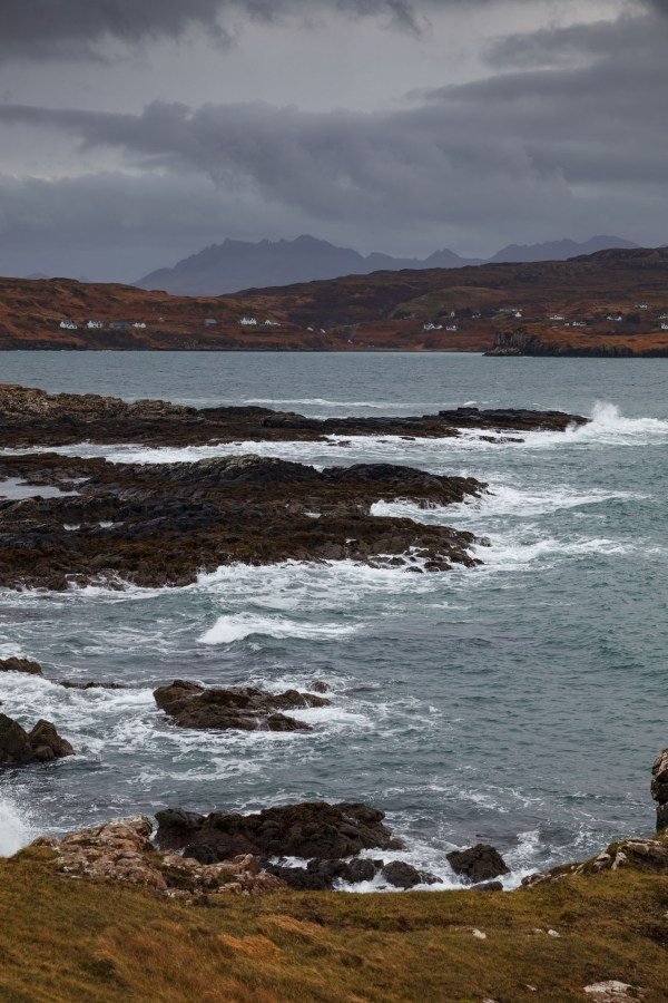 Cuillins In The Distance