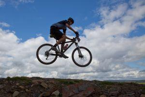 Mountain Bike Shoot (no Photoshop!)