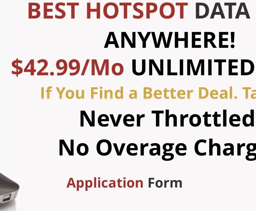 Unlimitedville Offers Unlimited Sprint Hotspot Plans For