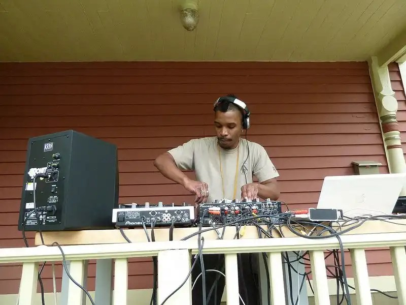 DJ Odawa at the Water Hill Music Festival