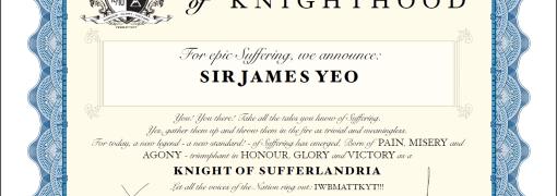 KoS Certificate