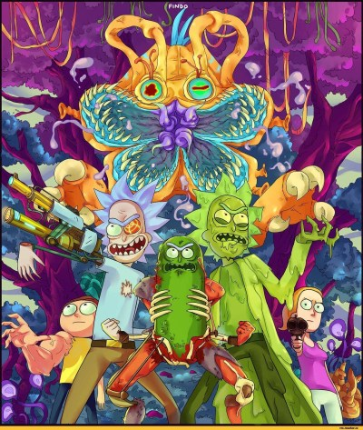 10 Best Trippy Rick And Morty Wallpaper FULL HD 1080p For PC Desktop