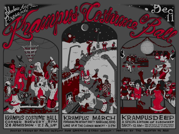 Krampus Costume Ball